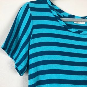 LOGO by Lori Goldstein Tops - LOGO Lori Goldstein Striped Tunic